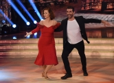 25/02/2017 Roma Prima puntata di Ballando con le stelle, nella foto: Anna Galiena e Simone Di Pasquale