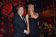 10/1/2009 Roma tresmissione BALLANDO CON LE STELLE nella foto: Milly Carlucci Fabrizio Del Noce