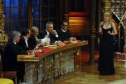 10/1/2009 Roma tresmissione BALLANDO CON LE STELLE nella foto: La Giuria