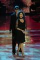10/1/2009 Roma tresmissione BALLANDO CON LE STELLE nella foto: Corinne Clery e Chuck Danza