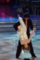 10/1/2009 Roma tresmissione BALLANDO CON LE STELLE nella foto: Valentina Vezzali e Samuel Peron