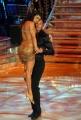 10/1/2009 Roma tresmissione BALLANDO CON LE STELLE nella foto: Stefano Bettarini e Samanta Togni