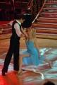 10/1/2009 Roma tresmissione BALLANDO CON LE STELLE nella foto: Licia Nunez e Dima Pokhomov
