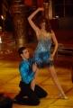 10/1/2009 Roma tresmissione BALLANDO CON LE STELLE nella foto: Carol Alt e Raimondo Todaro