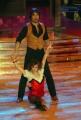 10/1/2009 Roma tresmissione BALLANDO CON LE STELLE nella foto: Alessio Di Clemente e Alessandra Mason