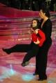 10/1/2009 Roma tresmissione BALLANDO CON LE STELLE nella foto: Emanuela Aureli e Roberto Imperatori