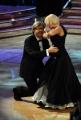 10/1/2009 Roma tresmissione BALLANDO CON LE STELLE nella foto: Vittorio Sgarbi e Giada Giacomoni