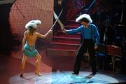 29/09/07 Prima puntata di BALLANDO CON LE STELLE, nelle foto: Giovanni Muciaccia con Ola Karieva