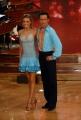 29/09/07 Prima puntata di BALLANDO CON LE STELLE, nelle foto: Elisa Silvestrin con Sante Mandolini