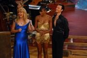 29/09/07 Prima puntata di BALLANDO CON LE STELLE, nelle foto: Milly Carlucci Naomi Campbell e Alessandro Camerotta
