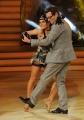 20/02/2016 Roma Ballando con le stelle puntata, nella foto: Enrico Papi e Ornella Boccafoschi