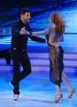 20/02/2016 Roma Ballando con le stelle puntata, nella foto: Salvo Sottile e Alessandra Tripoli