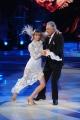 20/02/2016 Roma Ballando con le stelle puntata, nella foto: Lando Buzzanca e Sara Mardegan