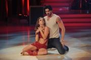 20/02/2016 Roma Ballando con le stelle puntata, nella foto: Michele Morrone e Ekaterina Vaganova