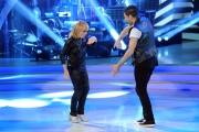 20/02/2016 Roma Ballando con le stelle puntata, nella foto: Rita Pavone e Simone Di Pasquale