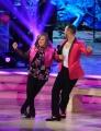 20/02/2016 Roma Ballando con le stelle puntata, nella foto: Nicole Orlando e Stefano Oradei