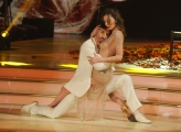 20/02/2016 Roma Ballando con le stelle puntata, nella foto: Margareth Madè e Samuel Peron