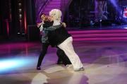 20/02/2016 Roma Ballando con le stelle puntata, nella foto: Platinette e Raimondo Todaro