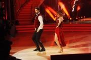 20/02/2016 Roma Ballando con le stelle puntata, nella foto: Iago Garcia e Samanta Togni