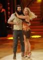 20/02/2016 Roma Ballando con le stelle puntata, nella foto: Luca Sguazzini e Vera Kinnunen