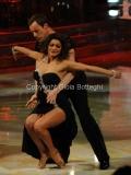 Roma 26/02/2011 Prima puntata di BALLANDO CON LE STELLE, nella foto: Gedeon Burkhard e Samanta Togni