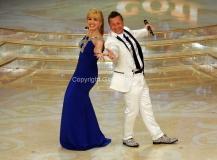 24/03/2012 Roma, prima puntata di Ballando con te, nella foto: Milly Carlucci e Paolo Belli