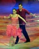 24/03/2012 Roma, prima puntata di Ballando con te, nella foto: Bobo Vieri e Natalia Titova