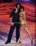24/03/2012 Roma, prima puntata di Ballando con te, nella foto: Marco Del Vecchio e Sara Di Vaira
