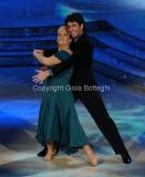 24/03/2012 Roma, prima puntata di Ballando con te, nella foto: Maria Pia Mancini e Simone Di Pasquale