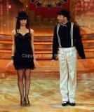 24/03/2012 Roma, prima puntata di Ballando con te, nella foto: Anna Tatangelo e Stefano Di Filippo