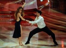 24/03/2012 Roma, prima puntata di Ballando con te, nella foto: Ester Condorelli e Raimondo Todaro