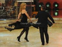 Roma 26/02/2011 Prima puntata di BALLANDO CON LE STELLE, nella foto: Milly Carlucci e Paolo Belli