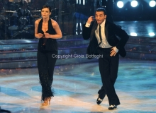 Roma 26/02/2011 Prima puntata di BALLANDO CON LE STELLE, nella foto: Vittoria Belvedere e Stefano Di Filippo