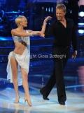 Roma 26/02/2011 Prima puntata di BALLANDO CON LE STELLE, nella foto: Kaspar Capparoni e Yulia Musikhina