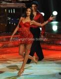 Roma 26/02/2011 Prima puntata di BALLANDO CON LE STELLE, nella foto: Madalina Ghenea e Simone Di Pasquale