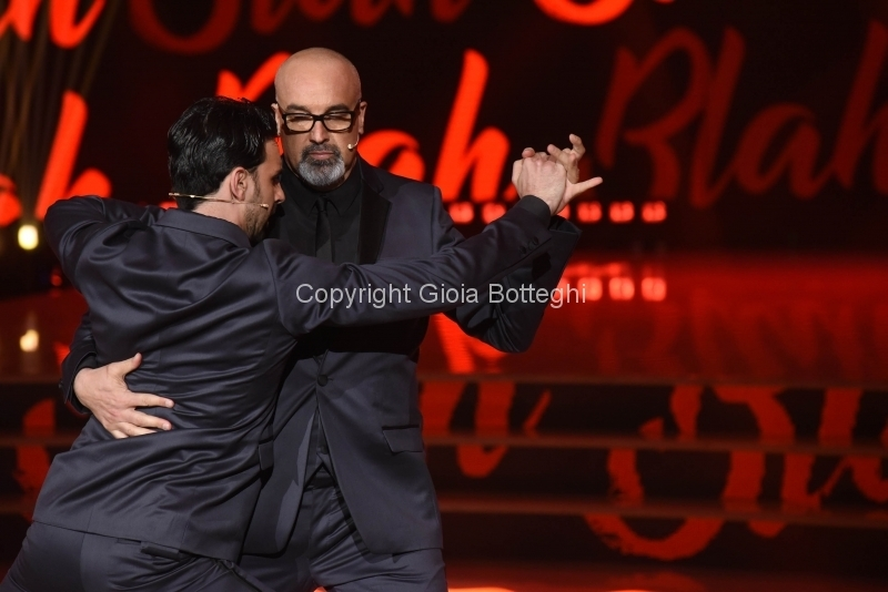 Foto/Gioia Botteghi 07/04/2018 Roma,  quinta puntata di Ballando con le stelle 2018, nella foto  Giovanni Ciacci, Raimondo Todaro    Italy Photo Press - World Copyright