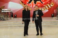 05/10/2013 Roma Ballando con le stelle , nella foto Milly Carlucci e Paolo Belli