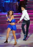 05/10/2013 Roma Ballando con le stelle , nella foto Elisa Di Francisca e Raimondo Todaro