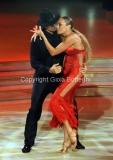 05/10/2013 Roma Ballando con le stelle , nella foto Lorenzo Flaherty e Natalia Titova
