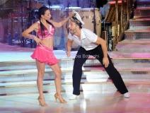 05/10/2013 Roma Ballando con le stelle , nella foto Alessandra Barzaghi e Roberto Imperatori