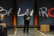 Roma 17/09/2009 trasmissione Ballarò, nella foto Giovanni Floris