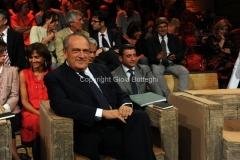 11/09/2012 Roma Prima puntata di Ballarò nella foto: Luigi Abete