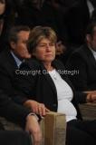 12/11/2011 Roma, puntata speciale di Ballarò raitre, nella foto Susanna Camusso