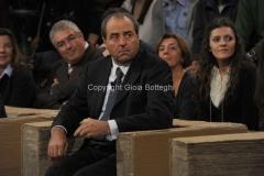 12/11/2011 Roma, puntata speciale di Ballarò raitre, nella foto Di Pietro