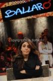 01/12/2015 Roma puntata di Ballarò con ospite Francesca Immacolata Chaouqui