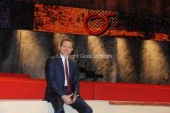 15/09/2015 Roma trasmissione Ballarò nella foto Massimo Giannini