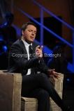 10/12/2013 Roma intervista faccia a faccia con Matteo Renzi ospite della trasmissione di Giovanni Floris BALLARO'