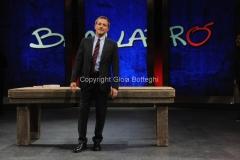 16/09/2014 Roma il nuovo conduttore di Ballarò Massimo Giannini