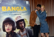 Foto/IPP/Gioia Botteghi Roma 07/05/2019 Photocall del film Bangla, nella foto: Carlotta Antonelli e Phaim Bhuiyan Italy Photo Press - World Copyright