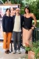 Foto/IPP/Gioia Botteghi 27/08/2018 Roma, presentazione del film Beate, nella foto il regista Samad Zarmandili con Donatella Finocchiaro e Anna Bellato  Italy Photo Press - World Copyright